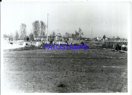 97998 ITALY ABBIATEGRASSO ROAD DEVIATION FOR TURNING LEVEL PASSAGES 18 X 12.5 CM PHOTO NO POSTAL POSTCARD - Fotografia