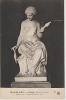 (ART865) MATHURIN MOREAU. LA FILEUSE. .. SALON 1861 ... UNUSED - Esculturas