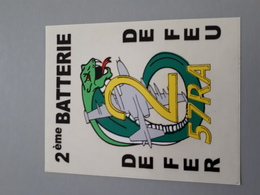 Autocollant Ancien : 2 ème Batterie Du 57 ème Régiment D'artillerie  & - Autocollants
