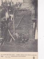 75. PARIS. GUERRE 14-18. LES ZEPPELINS SUR PARIS. EFFONDREMENT D'UNE MARQUISE - Weltkrieg 1914-18