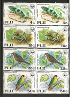 Protection De La Faune Locale Des FIDJI, 8 Timbres Neufs **  Côte  30,00 Euro - Fidji (1970-...)