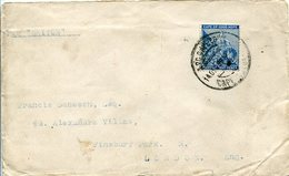 37169 Cape Of Good Hope, Circuled Cover 1899 To London - Cape Of Good Hope (1853-1904)