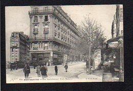 75 Paris / Montmartre / Rue Caulaincourt ( Coin Maistre ) - Arrondissement: 18