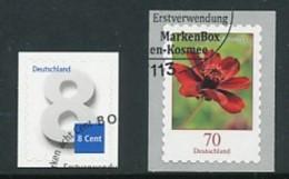 GERMANY Mi.Nr. 3196, 3197 Ziffer, Blumen- ESST Bonn - Used - Gebraucht