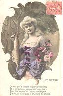 Thèmes - Fantaisies - Femme - Portrait - 1er Avril - Femmes