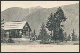 Ansichtskarte    Saiserahùtte Und Maria Luschariberg - Postcards