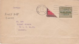 SOBRE ENVELOPE FDC CIRCULEEE CORREOS DE GUATEMALA 1936. AUTRE MARQUE- BLEUP - Guatemala