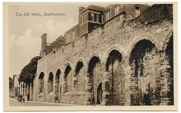 The Old Walls Southampton - R A C Knop - Unused - Southampton