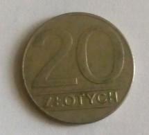 20 ZLOTHYCH,1989 - Poland