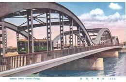 POSTAL    TOKYO  -JAPON  -GRATER TOKYO - UMAYA BRIDGE  ( PUENTE UMAYA) - Tokyo