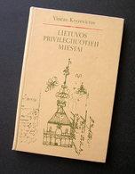 Lithuanian Book / Lietuvos Privilegijuotieji Miestai 1981 - Livres, BD, Revues