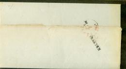 HANDGESCHREVEN BRIEF Uit 1853 Gelopen Van LANGSTEMPEL VAASSEN Naar ZWOLLE   (11.324) - Period 1852-1890 (Willem III)