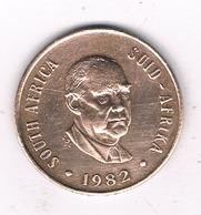 2 CENTS 1982 ZUID AFRIKA /4953G/ - South Africa