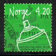 NORVEGE. N°1306 Oblitéré De 2000. Invention/Bombe Aérosol. - Norwegen
