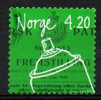 NORVEGE. N°1306 Oblitéré De 2000. Invention/Bombe Aérosol. - Gebraucht
