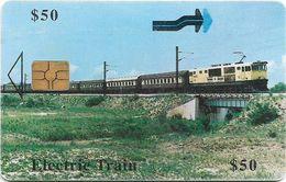 Zimbabwe - PTC - Electric Train - 50z$, 12.2000, 80.000ex, Used - Zimbabwe
