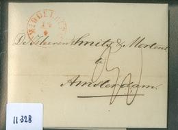 HANDGESCHREVEN BRIEF Uit 1850 Gelopen Van MIDDELBURG Naar AMSTERDAM   (11.328) - Paesi Bassi