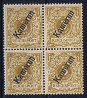 Deutsch Kamerun : Mi 1b  4-block  Postfrisch/neuf Sans Charniere /MNH/** - Kolonie: Kamerun