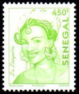 Sénégal 2007 Série Courante LA LINGUERE 450 F Not In Catalogue Non Cotée Nicht Im Katalog RARE MNH - Senegal (1960-...)