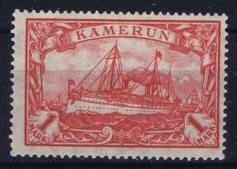 Deutsch Kamerun : Mi  24 II AMH/* Flz/ Charniere  26:17 - Kolonie: Kamerun