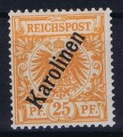 Deutsch Karolinen : Mi  5 II B  MH/* Flz/ Charniere - Kolonie: Karolinen