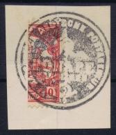 Deutsch Karolinen : PONAPE Stempel 4 Halbierung / Fragment - Colonia: Isole Caroline
