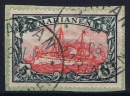 Marianen : Mi 19 Obl./Gestempelt/used On Fragment - Colony: Mariana Islands