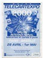 GUIDE VENTE AUX ENCHERES PUBLIQUES Télécartexpo 2000  AVRIL 2000 - Phonecards
