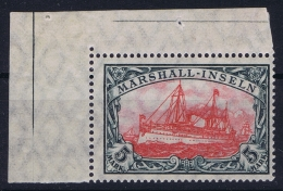 Maschall Inseln : Mi 27 B II Postfrisch/neuf Sans Charniere /MNH/**  Bogeneck Falz On Border - Kolonie: Marshall-Inseln