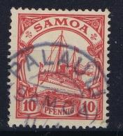 Samoa : Mi 9 Obl./Gestempelt/used  Stempel PALAULI - Colonie: Samoa