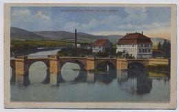 Witzenhausen Partie An Der Werra Steg Bruecke About 1910y.  E827 - Witzenhausen