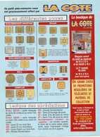 LA COTE EN POCHE Aide Memoire Des Différentes Puces - Phonecards