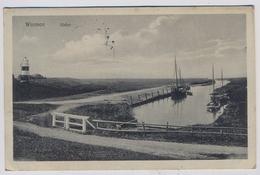 Wremen, Partie Im Wremer Hafen  1917y.  E828 - Cuxhaven