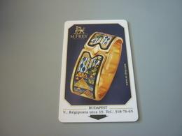 Hungary Budapest Hyatt Regency Hotel Room Key Card (Wien M. Frey Wille Jewel Jewellery) - Chiavi Elettroniche Di Alberghi