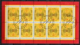 """Germany,Allemagne 2013 Kleinbogen/Zehnerbogen Mi.Nr.3036""""125.JT Der Abhandlung Von Heinrich Hertz""""mit ESST""""1 Bogen Used - [7] Federal Republic"""