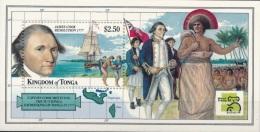 Tonga 1999 - MNH ** - James Cook - Bateaux - Michel Nr. Bloc 34 (tga026) - Tonga (1970-...)