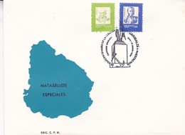SESQUICENTENARIO DE LA LLEGADA DE GARIBALDI A NUESTRO PAIS. 1991 URUGUAY- BLEUP - Uruguay