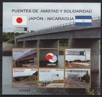 Nicaragua (2001) Yv. 2526/29A  /  Bridges - Ponts - Heritage - Architecture - Ponti