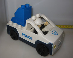 CAR POLICE COSTRUZIONI PER BIMBI - Altre Collezioni
