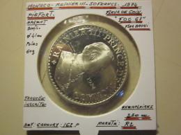 Monaco , Piefort , ESSAI , 50 Francs , Rainier III 1974  , ARGENT , FDC , 250 Ex 60 Gr - Monaco