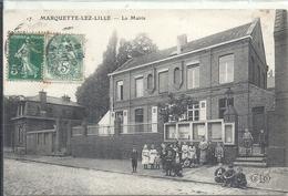 NORD - 59 -MARQUETTE LEZ LILLE - La Mairie - Superbe Animation - France