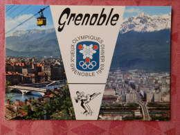 Dep 38 , Cpm GRENOBLE ,  Xes Jeux Olympique D'Hiver Grenoble 1968 , 38.151 , Multivues  (07.22.033) - Grenoble