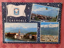 Dep 38 , Cpm GRENOBLE ,  Xes Jeux Olympique D'Hiver Grenoble 1968 , 38.162 , Multivues  (07.22.035) - Grenoble