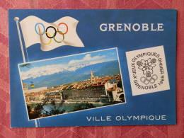 Dep 38 , Cpm GRENOBLE ,  Xes Jeux Olympique D'Hiver Grenoble 1968 , 38.156  (07.22.039) - Grenoble