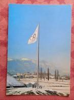 Dep 38 , Cpm GRENOBLE 1968 ,  Le Mat Olympique Des  Xes Jeux Olympique D'Hiver    (07.22.045) - Grenoble