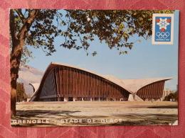 Dep 38 , Cpm GRENOBLE 1968 ,  Le Stade De Glace ,   Xes Jeux Olympiques D'Hiver    (07.22.047) - Grenoble