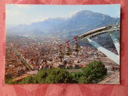 Dep 38 , Cpm GRENOBLE , Vu De La Station Supérieure Du Téléphérique De La Bastille , 38 AB 227   (07.22.049) - Grenoble