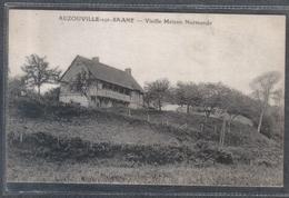 Carte Postale 76. Auzouville-sur-Saane  Vieille Maison Normande  Très Beau Plan - France