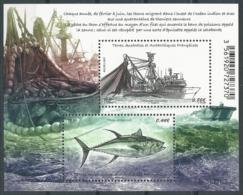 TAAF 2017 - Thonier Senneur En Pêche - Blocs-feuillets