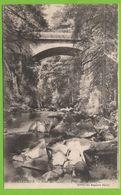 GERARDMER - Saut Des Cuves - Pont Sur La Vologne Carte Circulé 1915 - Gerardmer